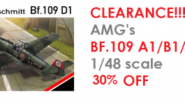 Clearance of AMG's 1/48 range