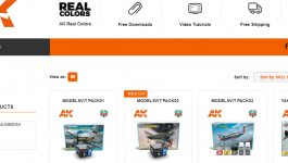 AK Interactive is the new Modelsvit's distributor in Spain