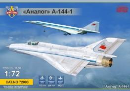 Analog A-144-1 (MiG21 prototype #1)