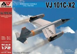 VJ 101C-X2 Supersonic-capable VTOL fighter