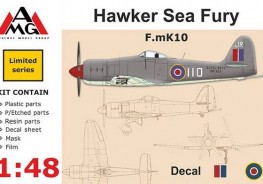 Hawker  Sea Fury F.mK 10