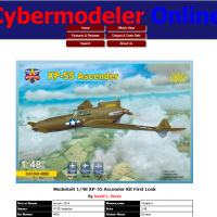 XP-55 in-box review in Cybermodeler