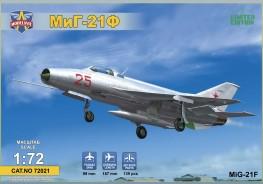 """MiG-21F(Izdeliye """"72"""") Soviet supersonic fighter"""