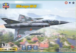 Scale model  Mirage IIIB operational trainer