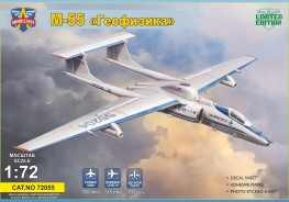 "Scale model  M-55 ""Geophysica"" research aircraft"