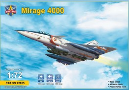Scale model  Mirage 4000 (upgraded version)