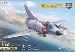 Scale model  Mirage IIIC all-weather interceptor
