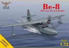 Be-8 amphibian aircraft (with water skis & hydrofoils)