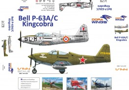 Scale model  Bell P-63A/C Kingcobra (2 in 1)